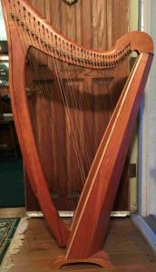 Rare 36 Hummingbird Lupine Cherry Celtic harp Asking $3500